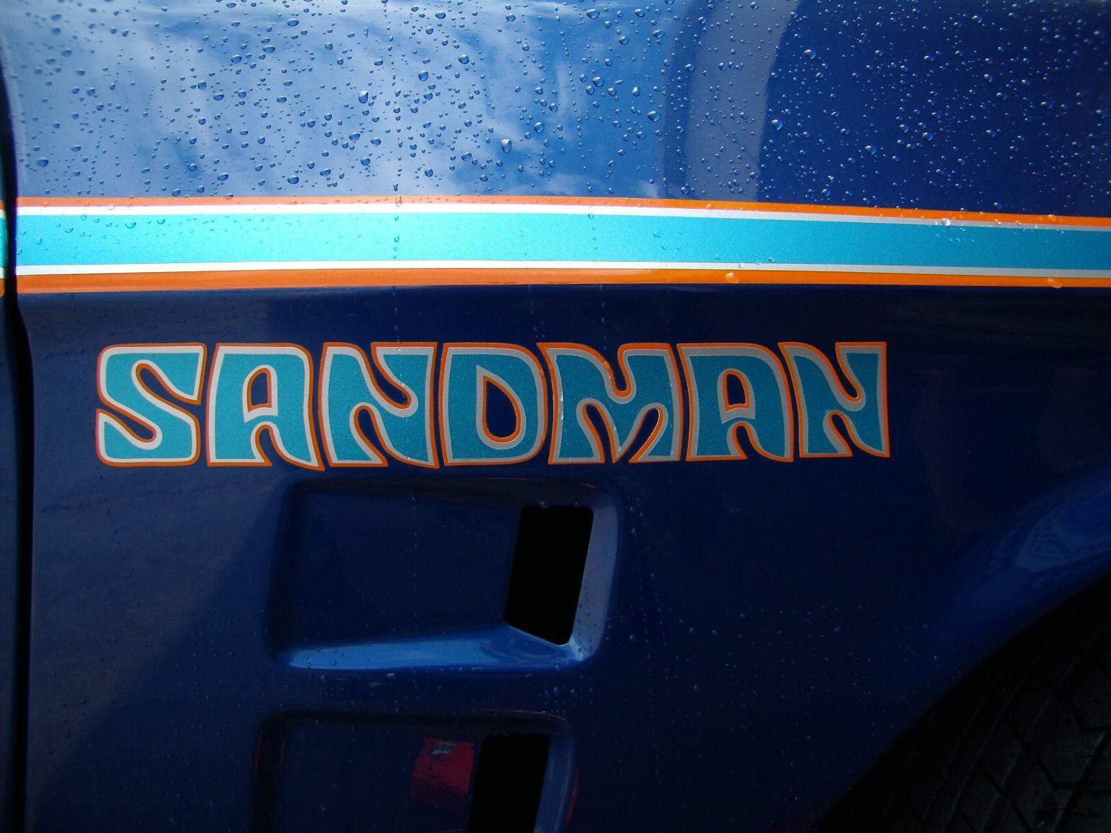 Holden Sandman Panel Van Decals Kit Performance Decals